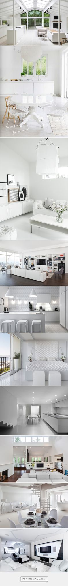 Decorating Ideas: 10 All-White Rooms - Design Milk - created via http://pinthemall.net
