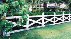historic fence style