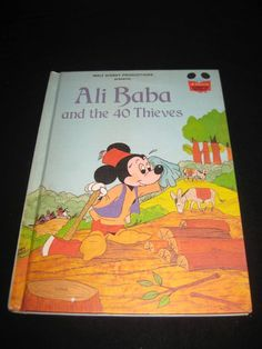 DISNEY'S WONDERFUL WORLD OF READING ALI BABA AND THE 40 THIEVES (1979)