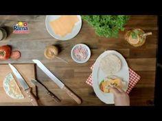 "Rama s maslom - ""Raňajkový burger s bielkovou omeletou"" - YouTube"