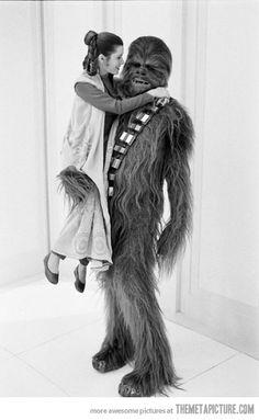 funny Princess Leia Chewbacca