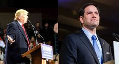 Photo Credit: donaldjtrump.com ; marcorubio.com Marco Rubio just run away from his defeat in these republican elections. Sen. Marco Rubio's campaign is urging supporters to vote for Ohio Gove…