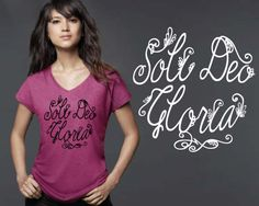 Soli Deo Gloria  Christian Shirts  Christian Gifts  by KorenaLoves
