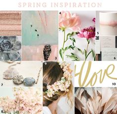 Spring is on my mind and although the ground may still be frozen and snow in the forecast, enjoy these picks for some spring inspiration.