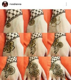 20 Step by Step Mehndi Designs for Beginners – Henna 2020 Very Simple Mehndi Designs, Cute Henna Designs, Mehndi Designs For Kids, Stylish Mehndi Designs, Mehndi Designs For Beginners, Tattoo Designs, Khafif Mehndi Design, Mehndi Design Photos, Beautiful Mehndi Design