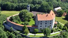 Luftbild Gnotzheim - Burg Spielberg in Gnotzheim, Bayern Germany Castles, Fortification, Bavaria, Palace, Mansions, House Styles, Castles, Forts, Environment