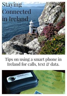 Using a Smart Phone in Ireland. Ireland travel tips.