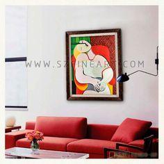 Pablo Picasso-The Dream
