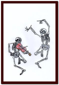 Dancing Skeleton with violin Collage Print Wall Decor Art Print Mixed Media Digital upcycled musical Notes Art Print Skeleton Drawings, Skeleton Tattoos, Skeleton Dance, Skeleton Art, Shaka Tattoo, Tattoo Drawings, Art Drawings, Tattoo Sketches, Photographie Portrait Inspiration