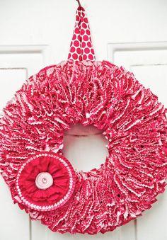 20 Valentine Wreaths