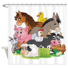 Illustration about Farm animals topic image 3 - vector illustration. Illustration of footpath, countryside, bird - 34413544 Cartoon Drawings, Easy Drawings, Animal Drawings, Simple Cartoon, Cute Cartoon, County Fair Theme, Magazines For Kids, Farm Yard, Kids Prints