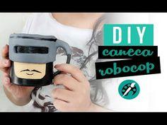 DIY CANECA ROBOCOP ❤ GEEK TUTORIAIS