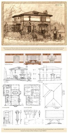 andrew charles borzner1928 beautiful homes - Blueprints For Homes
