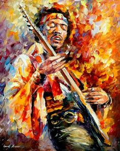 This will be there in my home someday. Period.    Hendrix - leonid Afremov