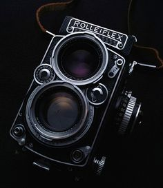 Rolleiflex Planar 2.8E TLR Classic Medium-format analogue camera - Photography #imagescameras