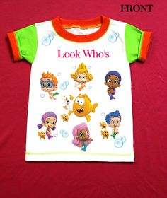 Bubble Guppies Personalized t-shirt 1st 2nd 3rd 4th 5th 6th Personalization is included at no additional cost. by FantasyKidsDesigns on Etsy