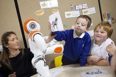 NAO from Aldebaran Robotics connects with autistic children - The Boston Globe
