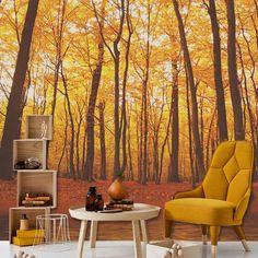 Η διακόσμηση επιστρέφει στη... φύση!  Tαπετσαρία τοίχου: http://www.houseart.gr/select_use.php?id=292&pid=8596