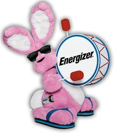 TO DO: make energizer bunny you that runs on energizer batteries, but requires so much energy to work that it drains the batteries within seconds/minutes. Then make a funny YouTube video about it. INTERNET, DO THE THINGS.
