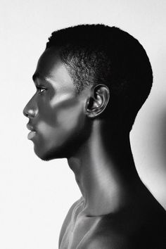 The Best Art: Lakin Ogunbanwo's provocative photography African Men, African Beauty, Fotografie Portraits, Face Profile, Fashion Photography Inspiration, Black And White Portraits, Interesting Faces, Photo Reference, Male Face