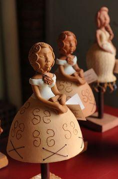 Obra de Raimunda Teixeira da Silva, do Piauí, em exposição em Nova York, na sede da ONU. O artesanato se volta para a exportação.