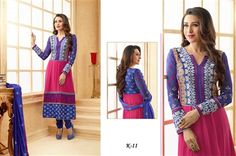Beautiful traditional Indian salwar kameez - K11 If you wish to buy this dress please visit ssjfashion.com or click on the pin to visit the website.
