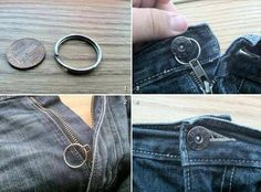 How to Stop Your Zipper from Falling Down