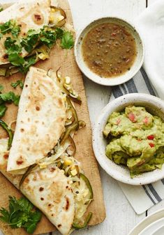 Poblano Corn Quesadillas from www.whatsgabycooking.com are the perfect summertime meal! (@whatsgabycookin)