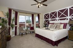 Everything's Included by Lennar, the leading homebuilder of new homes for sale in the nation's most desirable real estate markets. Home Bedroom, Master Bedroom, Graham Model, Ryland Homes, New Homes For Sale, Bay Window, Beautiful Bedrooms, Real Estate Marketing, Building A House