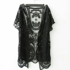 Boho Crochet Lace Kimono · Poison · Online Store Powered by Storenvy