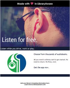 13 best promotional templates for ebsco customers images on promote ebsco audiobooks to library patrons with this campaign fandeluxe Gallery