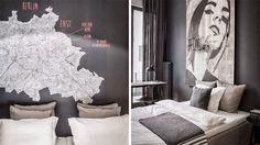 Nomads- Sober and Elegant Apartment Interior Design Wearing Charcoal and Wood In Berlin Flat Interior Design, Apartment Interior Design, Bedroom Apartment, Interior Ideas, Minimalist Bedroom, Modern Bedroom, Berlin Apartment, Masculine Interior, Appartement Design
