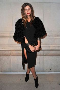 See France's chicest women in honor of Bastille Day, plus shop all things French Style: Elisa Sednaoui, Model and Actress.
