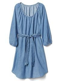 Tencel Scoopneck Dress