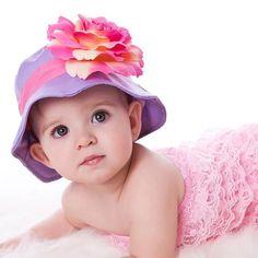 Grape Sorbet Baby Sun Hat #Melondipity