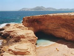 LITTLE CYCLADES |There are dozens of exquisitely empty beaches in the Little Cyclades, many of them—unlike elsewhere in Greece—golden and fine. This secluded spot is Gala Beach, on Pano Koufonisi.