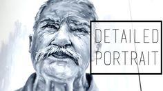 Detailed Portrait Painting · 30 Ways to Fill a Sketchbook · SemiSkimmedMin