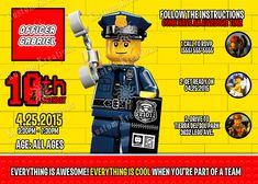 Visit the post for more. Lego Birthday Invitations, Superhero Birthday Cake, Star Wars Birthday, Star Wars Party, Birthday Cakes, 5th Birthday, Birthday Ideas, Gaspard, Lego Cake