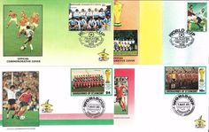 16 Fifa World Cup First day Covers Mexico 86 ~ St Vincent Argentina 7th May 1986  | eBay