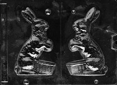Cybrtrayd Life of the Party Bunny with Basket Easter Chocolate Candy Mold in Sealed Protective Poly Bag Imprinted with Copyrighted Cybrtrayd Molding Instructions Chocolate Candy Molds, Easter Chocolate, Candy Making Supplies, Easter Candy, Poly Bags, Easter Baskets, Bunny, Painting, Easter Ideas