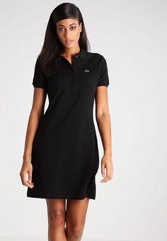 Vêtements Lacoste Robe d'été - black noir: 145,00 € chez Zalando (au 28/03/17). Livraison et retours gratuits et service client gratuit au 0800 915 207.