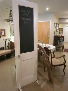 I have three unique old doors in South Haven that I need ideas to use.