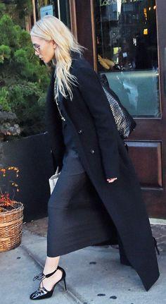 Ashley Olsen Style, Olsen Twins Style, All Black Outfits For Women, White Outfits, Olsen Fashion, Winter Fashion Outfits, Fashion Tips, Fashion Weeks, Mary Kate Olsen
