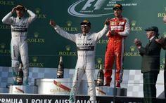 Gp Australia: doppietta Mercedes. Vince Hamilton davanti a Rosberg. Ferrari a podio con Vettel. #formula1 #hamilton #vettel