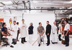 Hermès Petit h workshop, artists and craftsmen.  Photo: Vincent Leroux