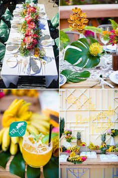 Design Inspiration: Tropical Wedding Ideas