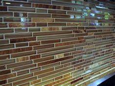 Mosaic Glass Tile Backsplash...kitchen?
