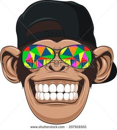monkeys art Painting Fun is part of Monkey Paintings Fine Art America - 2 X Monkey Cap Vinyl Decal Stickers Skate Surf Board Kids Laptop Hat 5613 Illustration Singe, Funny Illustration, Monkey Cap, Monkey Drawing, Dope Art, Illustrations, Urban Art, Duvet Cover Sets, Surfboard