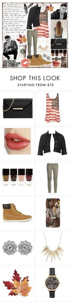 """""""#37 Fall"""" by charlotte-sk ❤ liked on Polyvore featuring MICHAEL Michael Kors, BB Dakota, Nails Inc., George J. Love, Timberland, With Love From CA, Alexis Bittar, Croft & Barrow and Olivia Burton"""