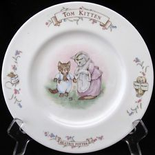 Royal Albert The World of Beatrix Potters Child's Plate Tom Kitten